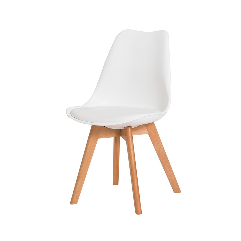 Kit 2 Cadeiras Leda Saarinen Design Branca