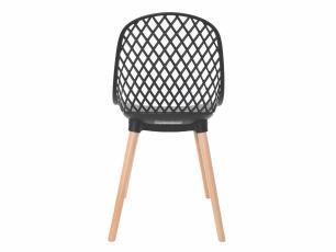 Kit 2 Cadeiras Vision Preta