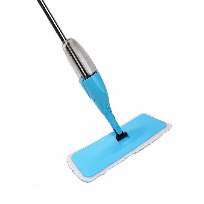 Vassoura Spray Mop Com Reservatório de 400ml e 1 Refil Microfibra