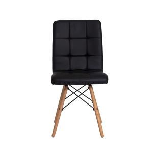 Kit 2 Cadeiras Charles Eames Gomos Preta