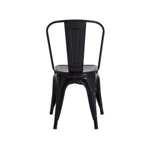 Kit 3 Cadeiras Tolix Iron Industrial Amarela
