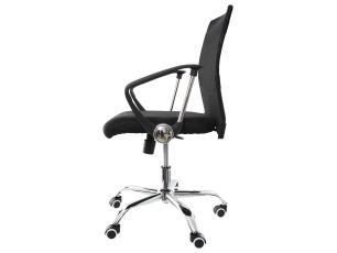 Kit 2 Cadeiras De Escritório Diretor Cairo Mesh Preta