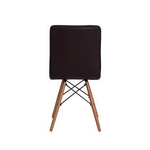 Kit 4 Cadeiras Charles Eames Gomos Preta