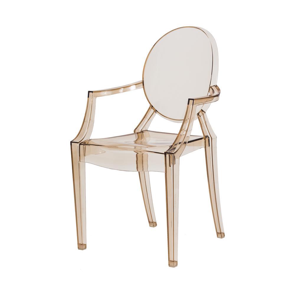 Cadeira Louis Ghost Ambar