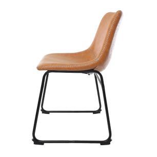 Kit 2 Cadeira Para Mesa De Jantar Sala Cozinha Escrivaninha Munich Bruna Caramelo