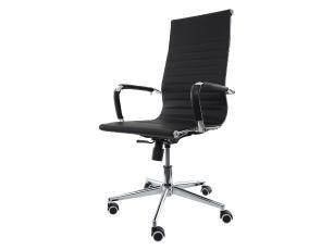 Kit 2 Cadeiras De Escritório Presidente Charles Eames Eiffel Preta