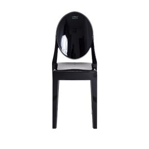 Cadeira Victoria Ghost Preta
