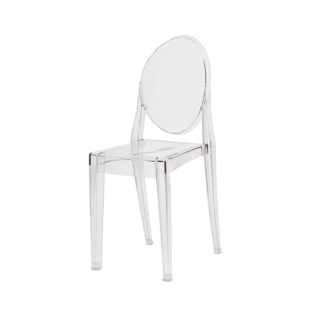 Cadeira Victoria Ghost Transparente