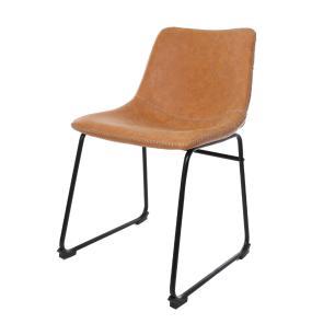 Kit 2 Cadeira Para Mesa De Jantar Sala Cozinha Bruna Munich Caramelo