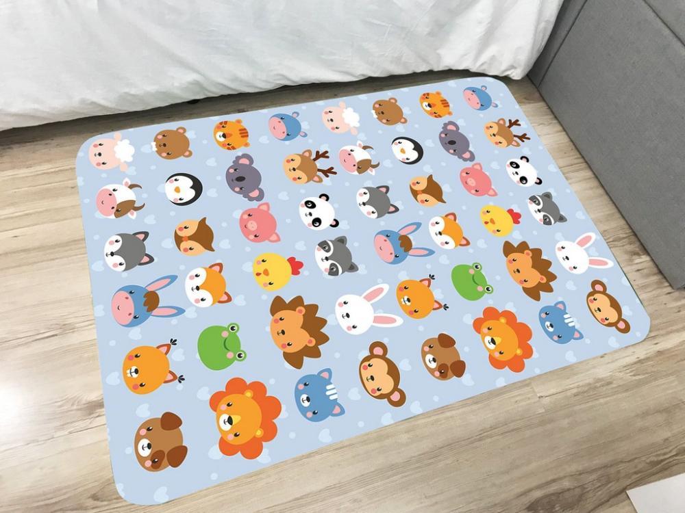 Tapete Infantil de Brincar Estampa Digital 95x130m PETS