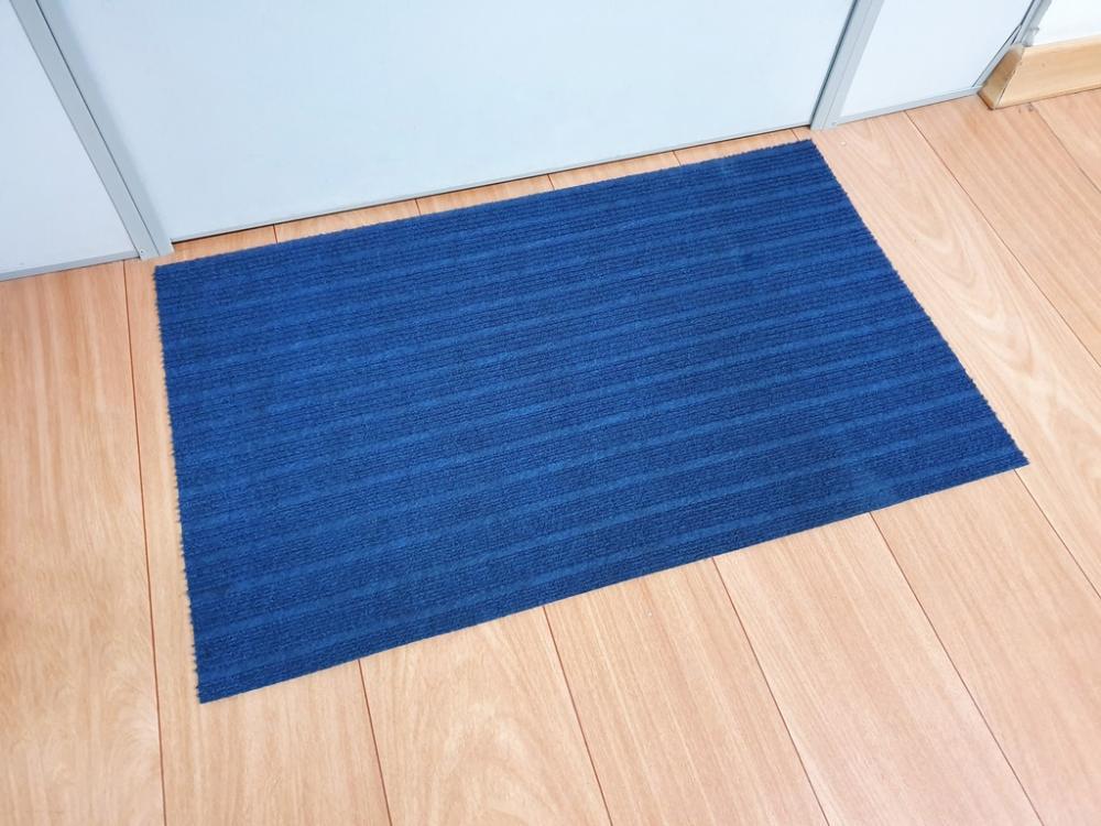 Capacho para Porta 50cmx80cm Sempre Limpo Azul