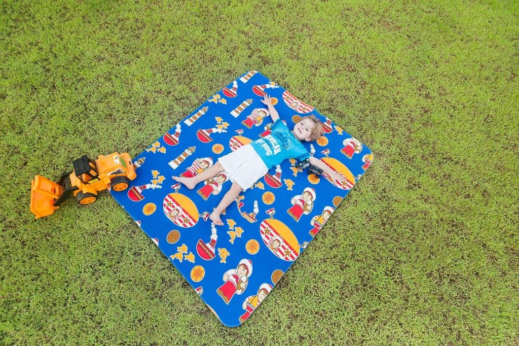 Tapete Infantil 130x150m Tecil Marinheiro