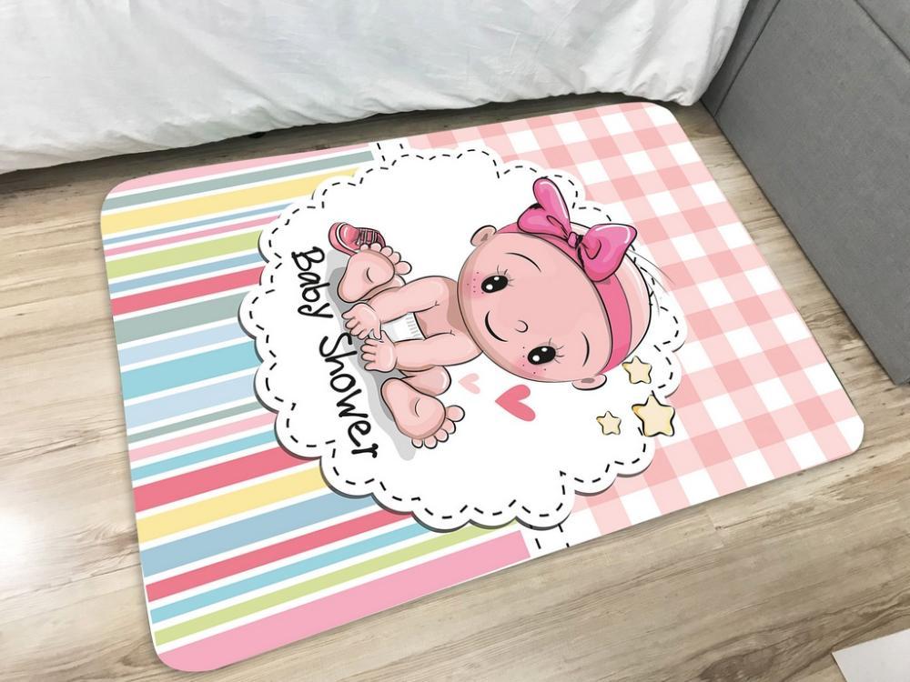 Tapete Infantil de Brincar Estampa Digital 95x130 Baby Shawer