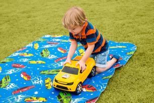 Tapete Infantil 130x200m Tecil Carros