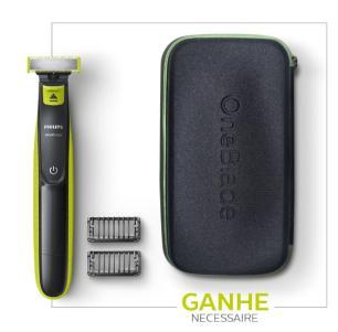Kit Oneblade QP2521 + Necessaire Philips