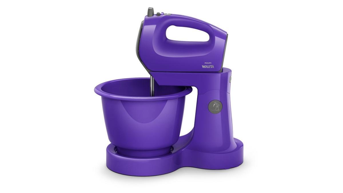 Batedeira Philips Walita Viva Ultra Violet 400W Roxo