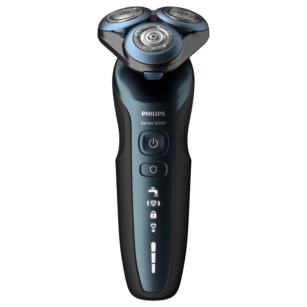 Barbeador Philips Linha S6000 S6610/11 Preto