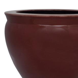 Cachepot em Porcelana Vinho 26x37