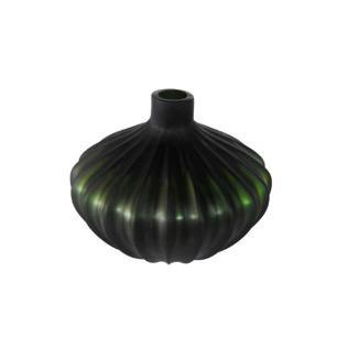 Vaso Decorativo em Vidro Verde - 20x25x25cm