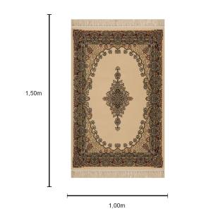 Tapete Persa Bege - 100x150cm