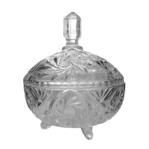 Conjunto de Bombonieres Produzida em Cristal Ecológico - 2 Peças
