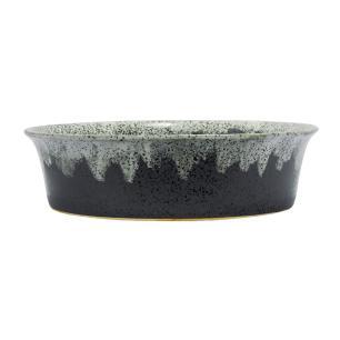 Vaso Decorativo Cinza em Ceramica  - 10x38cm