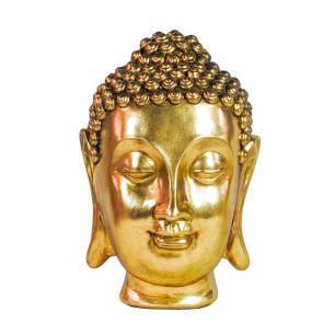 Escultura de Buda em Resina - 19x31x20cm