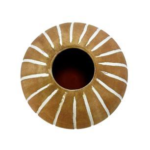 Vaso Decorativo em Cerâmica Terracota - 19x22cm