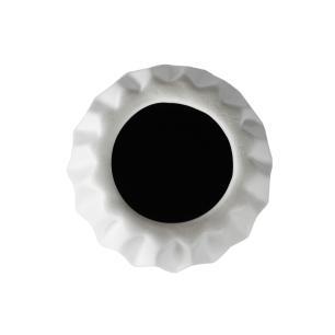 Vaso Decorativo em Cerâmica na Cor Branca - 41cm