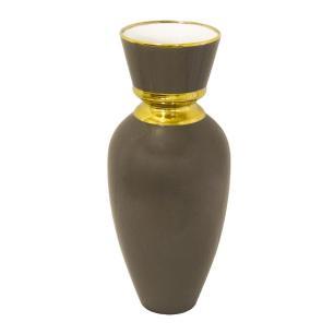 Vaso Decorativo em Porcelana Marrom