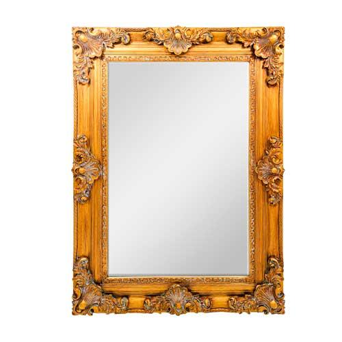 Espelho Decorativo em Madeira - 116x86cm