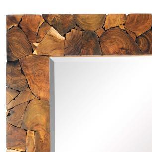Espelho com Moldura em Madeira - 200x100cm
