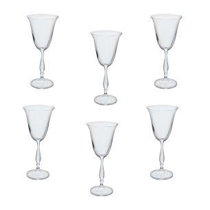 Jogo de Taças Fregata em Cristal para Vinho Tinto - 6 Peças