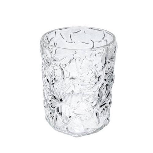 Vaso em Vidro Decorativo Translucido - 15x12cm