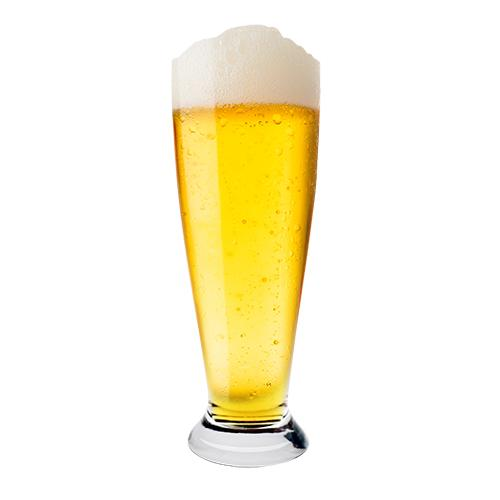 Jogo de 6 Copos para Cerveja Pilsner em Cristal Ecológico - 300ml