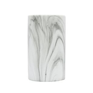 Objeto Decorativo em Cerâmica Marmorizada - 22x13cm
