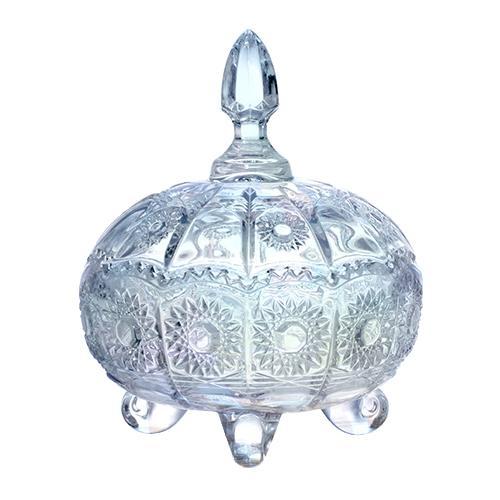 Bomboniere Versailles em Cristal Furta-Cor - 10,9x13,9cm
