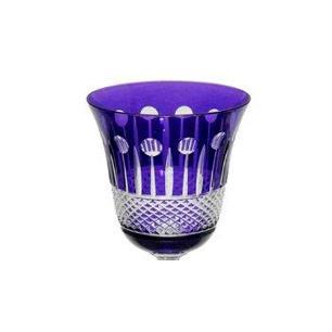 Taça de Cristal Polonês Cor Roxo para Vinho - 170ml