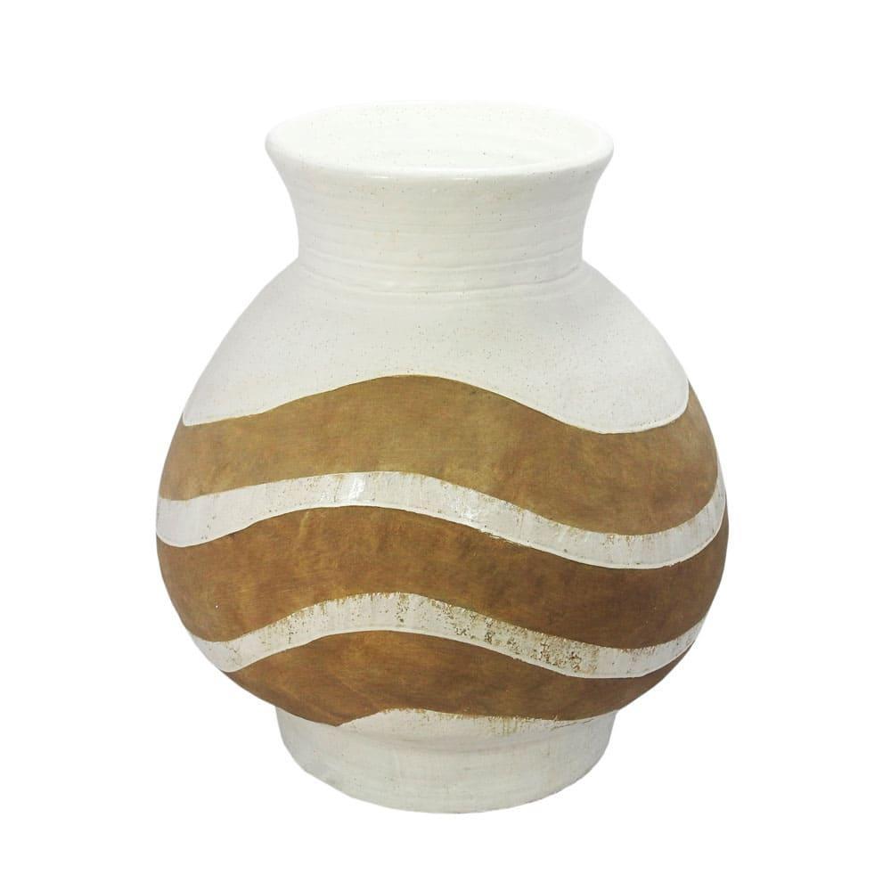 Vaso Decorativo em Cerâmica - 60x60cm