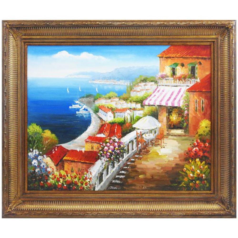Quadro Costa Amalfitana - 119x149cm