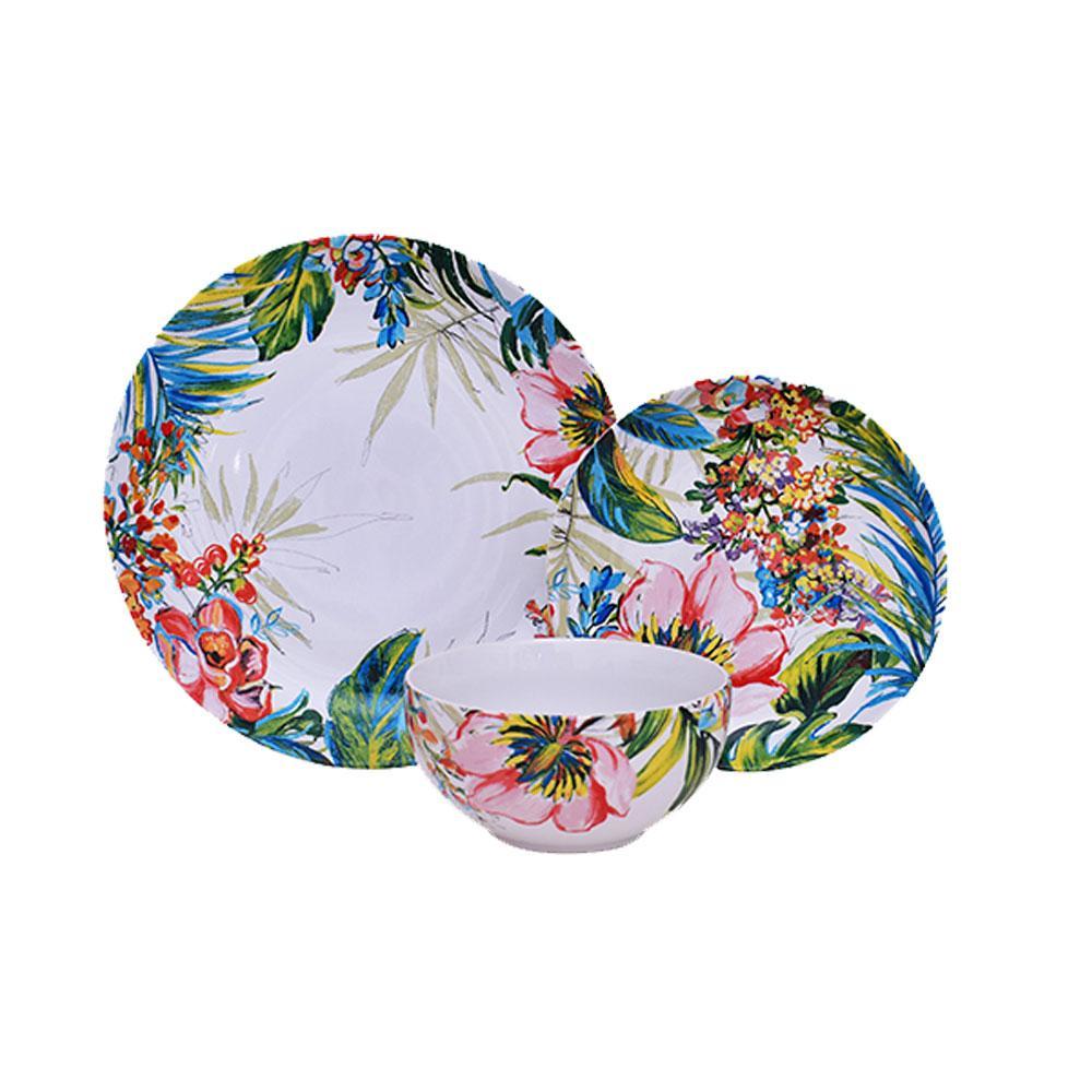 Aparelho de Jantar Caribean em Porcelana - 18 Peças