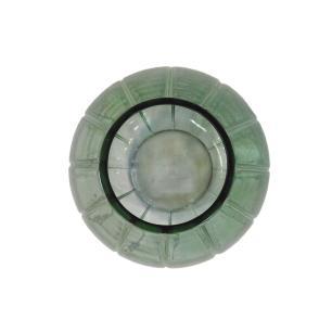 Vaso Decorativo em Vidro Verde - 26cm