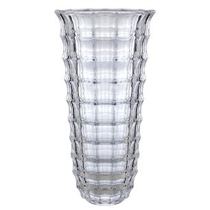 Vaso Square em Cristal Ecologico Transparente - D15xA30cm