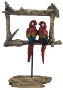Escultura De Pássaro Em Resina Falcon