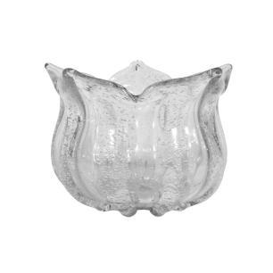 Bowl Decorativo em Murano Incolor - 14x21cm