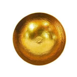 Vaso Dourado em Alumínio - 25x33cm