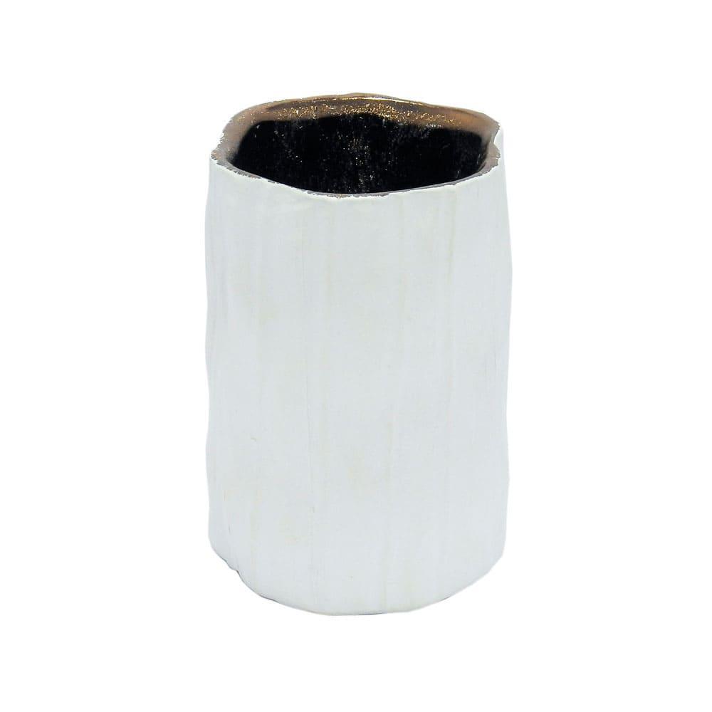 Vaso Decorativo Branco - 12x08cm