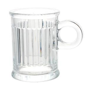 Jogo de 6 Xícaras para Café Coffee Time em Cristal - 85ml