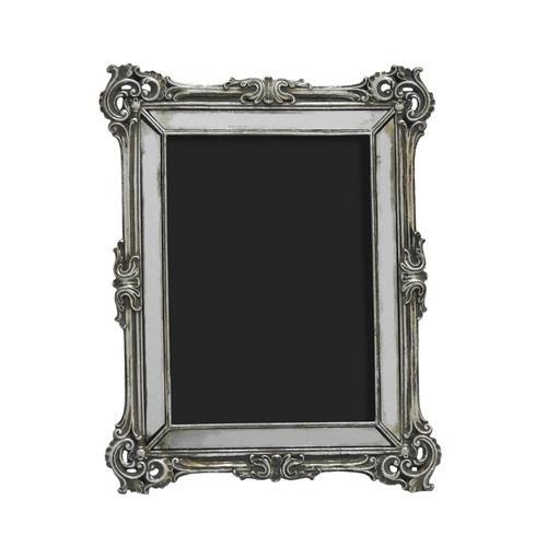 Porta Retrato em Resina Prata 25m x 19cm