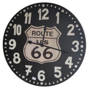 Relógio de Parede Retrô Old Route US 66